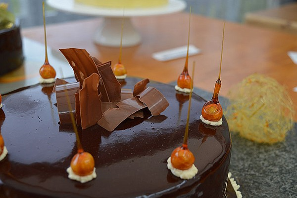 Andrew's Showstopper - orange, salted caramel and chocola...