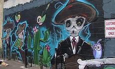 """""""The Garden Party"""" mural by Althea Rose Neff, G..."""
