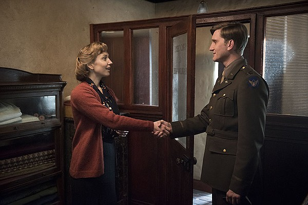 Rose Coyne (HATTIE MORAHAN) and Captain Ronald Dreyfuss (...