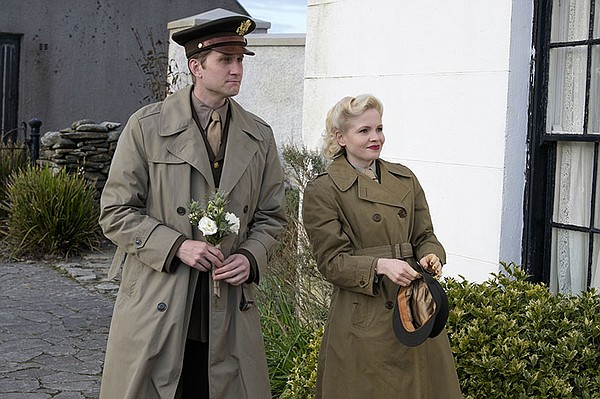 Captain Ronald Dreyfuss (AARON STATON) and Tillie Zeigler...