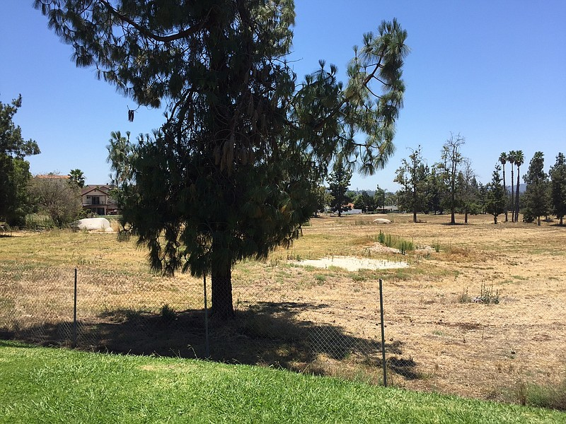 The site of the former Escondido Country Club golf course, where a developmen...