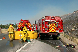 San Diego Red Flag Warning Prompts Cal Fire Staffing Leve...