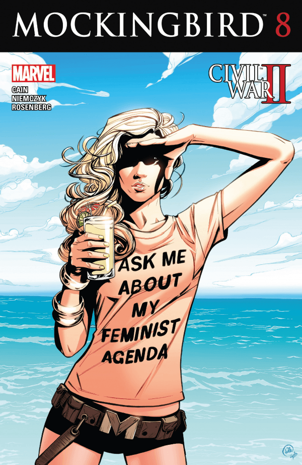 The cover for the final issue of Chelsea Cain's