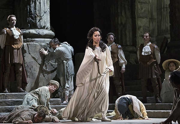 "Nadine Sierra as Ilia in Mozart's ""Idomeneo."""