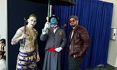 From left: The Joker, Yondu Udanta/Mary Poppins from Guardians of the Galaxy,...