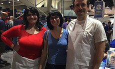 Linda, Tina, and Bob Belcher from 'Bob's Burgers'. From left: Brandice Mello,...