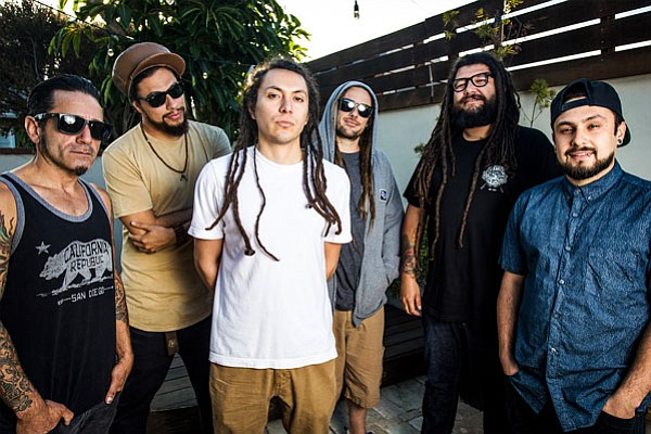 A promotional photo of the band Tribal Seeds.