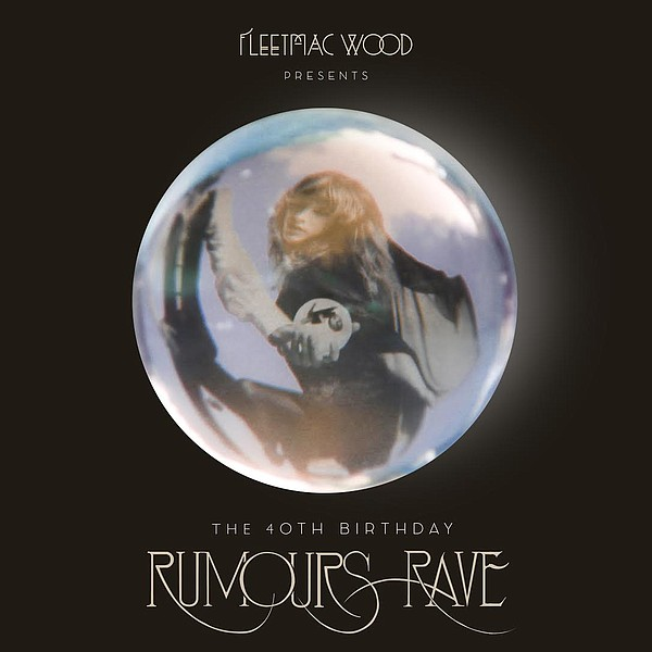 A promotional poster for Fleetmac Wood's Rumours Rave.