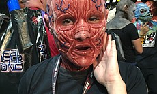 Fans dress up for Comic-Con International, July...