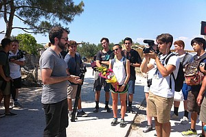 Carlsbad Students Get Lesson In Media Literacy On Trip To Greece