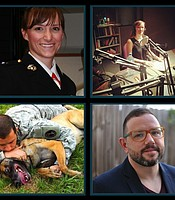 """Contributors featured in episode 10, """"The Undesirables."""" Top: Lisbeth Prifogle; Bottom: Anthony Moll"""