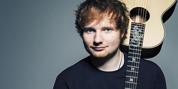 A publicity photo of musician Ed Sheeran.
