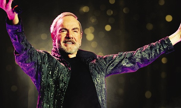 A 2017 photo of musician Neil Diamond.