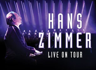 A promotional poster for Hans Zimmer Live