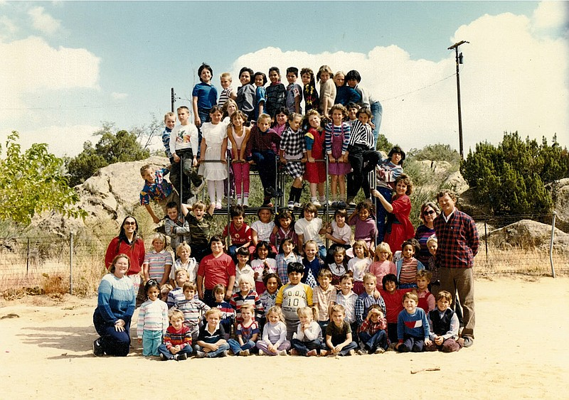 The student body of the Jacumba school when it was an elementary sc... ()