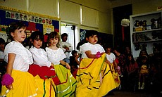 Jacumba Elementary School students performing for Cinco de Mayo are... (105715)