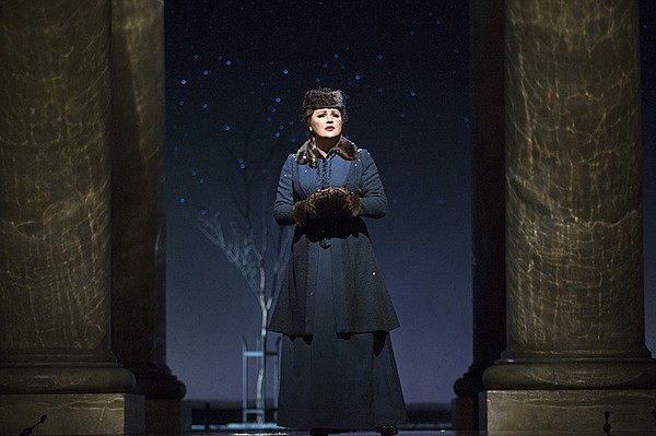 Anna Netrebko as Tatiana in Tchaikovsky's