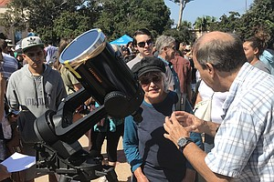 San Diegans Watch Partial Solar Eclipse