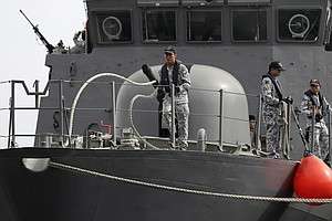 Navy Ends Search For USS McCain Missing; Confirms 1 Death