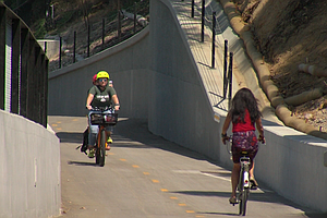 New Protected Bikeway Connects Mid-City To Mission Valley