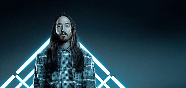 A promotional photo of DJ Steve Aoki.