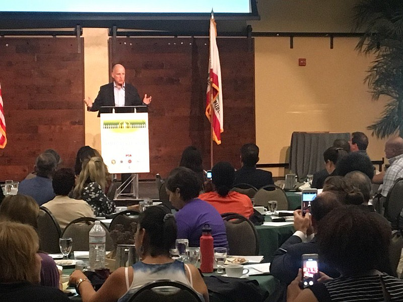 California Governor Jerry Brown talks about the evolving state prison system ...