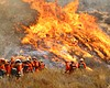 Wildfires Across US West Force Thousands To Flee Their Homes