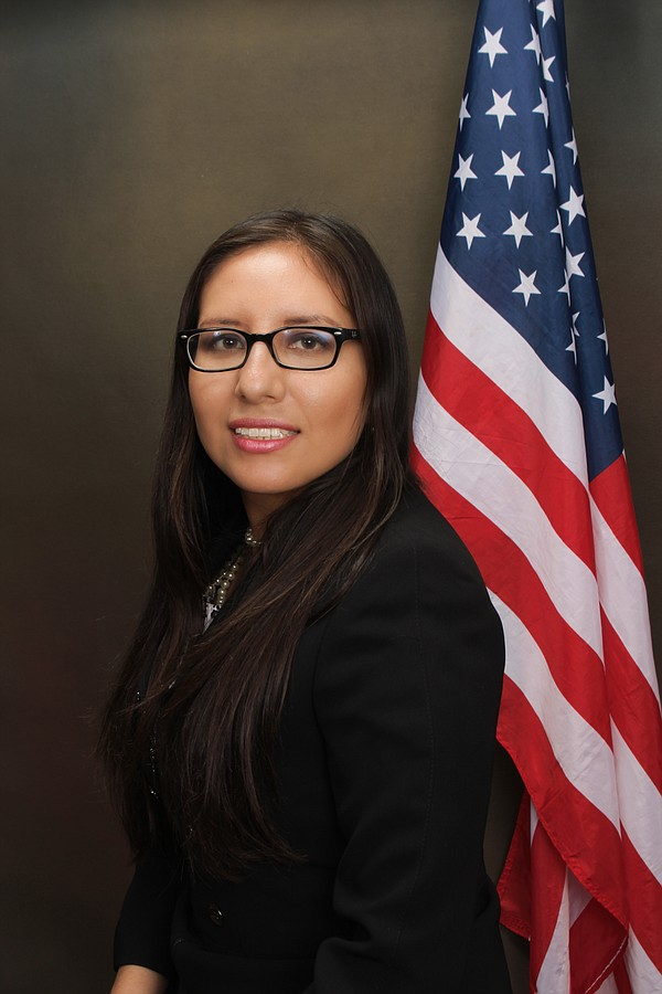 Dulce Garcia, San Diego immigration attorney in an undate...