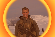 Retired Navy Seal Ben Betz is pictured in Kodiak, Alaska in 2007.