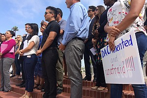 San Diego City Council Votes To Join Lawsuits Over Trump's End To DACA Program
