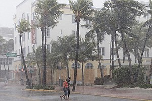 Irma Weakens But Continues To Batter Central Florida