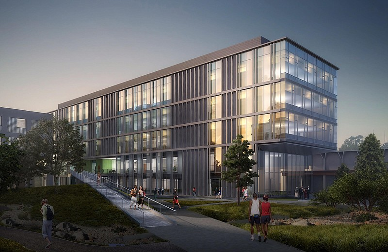 This undated artist rendering depicts the new UC San Diego building, which wi...