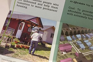Report Delivered On Tiny Home Communities As Transitional Housing