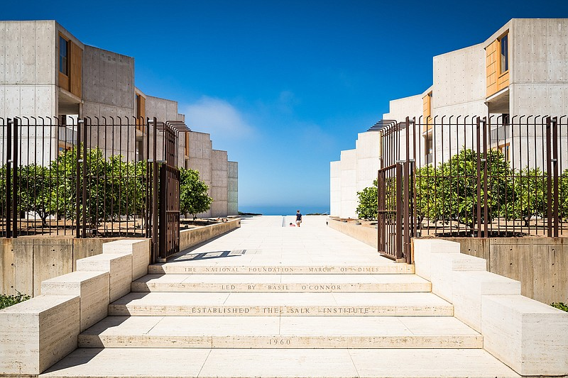 The Salk Institute is shown in this undated photo.