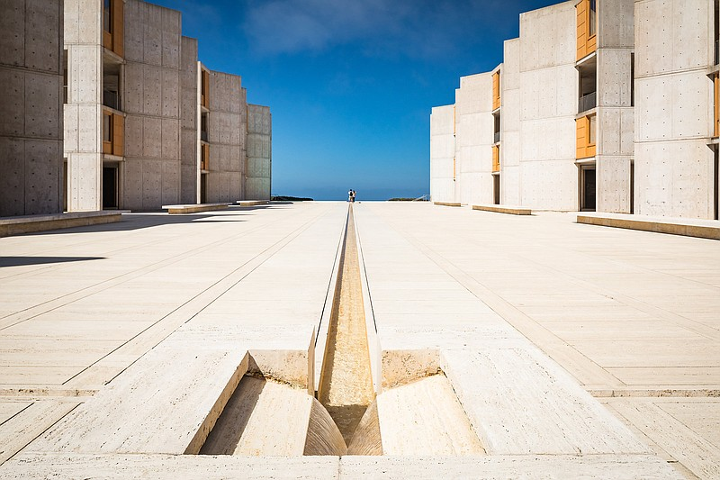 The Salk Institute pictured in this undated photo.