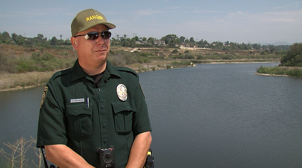 Newly appointed ranger Jerry Serafini talks about his new position with the p...