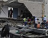 7.1 Magnitude Quake Kills Scores Of People As Buildings Collapse In...