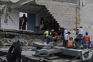 7.1 Magnitude Quake Kills Scores Of People As Buildings Collapse In Mexico