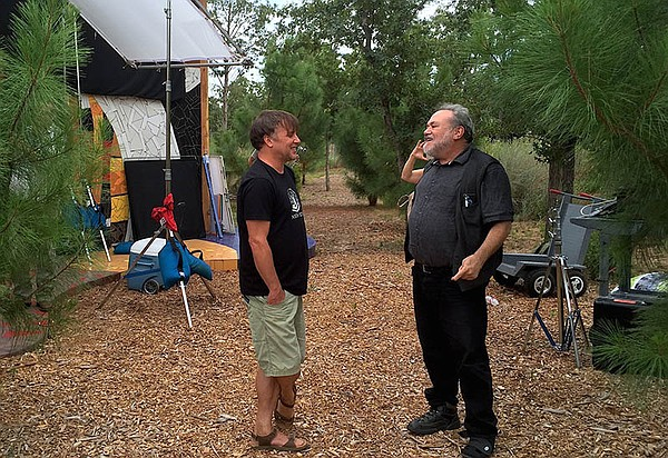 Richard Linklater and co-director/co-producer Louis Black...