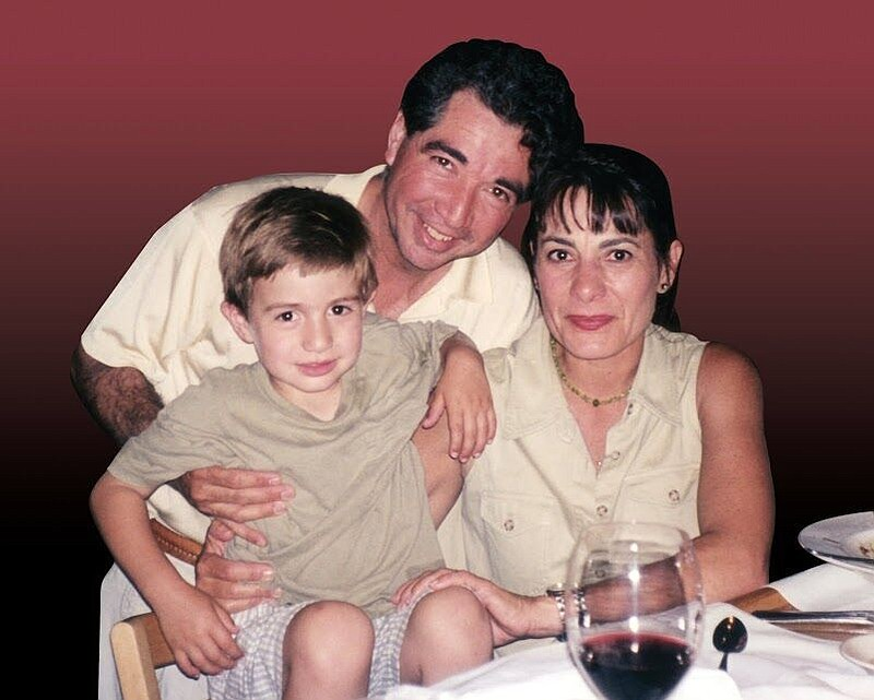 Richard and Diane Nares and their son, Emilio are pictured in this undated ph...