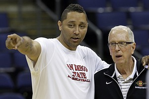 Former SDSU Basketball Coach Tony Bland Among 4 College C...