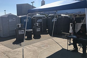 New Restrooms Installed In Downtown San Diego In Effort T...