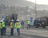 Worker Falls At Site Where Border Wall Prototypes Are Under Constru...