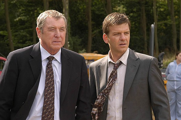 John Nettles as DCI Barnaby and Jason Hughes as DS Jones ...