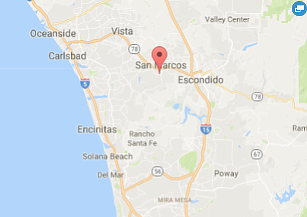 San Marcos is shown in this undated Google Maps image.