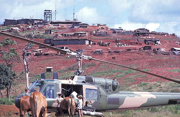 A U.S. Air Force Bell UH-1P from the 20th Special Operati...