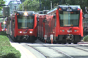 San Diego City Employees Lead On Public Transit, Lag On B...