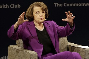 Photo for Sen. Dianne Feinstein Says She's Running For Re-Election