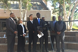 El Cajon Mayor, Faith Leaders Meet To Talk Community-Poli...