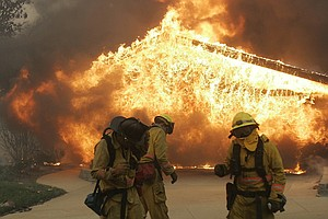 10 Years Ago: Firestorms Ravaged San Diego County